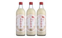 糸島天領米甘酒「甘いささやき」3本セット