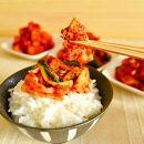 玉家のキムチセットC(白菜、葱、胡瓜、大根)【玉家のキムチ工房】
