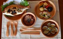 箱根の森をイメージしたかわいい食器たち(9セット)