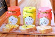屋久島フルーツバター3本セット【屋久島たんかん・パッションフルーツ・グァバ】