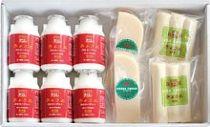清里ミルクプラントのむヨーグルト6本と人気チーズ2種セット W-156-2020