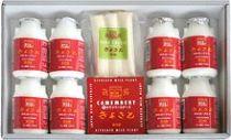 清里ミルクプラントのむヨーグルト8本と定番チーズ2種セット W-158-0110