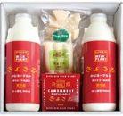 清里ミルクプラントのむヨーグルト900ml×2本とチーズ3種セット W92-1110