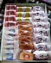 商店街の菓子店「千秋庵」の菓子詰合せ30個