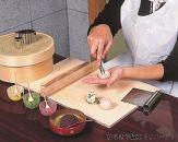(Cコース/2名様)《ししゅうやかた》京の和菓子作り体験プラン