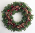 【ギフト用】美流渡の森フレッシュ・クリスマスリース2