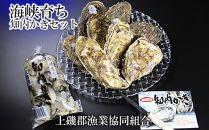 DD018海峡育ち「知内かきセット」殻付き牡蠣・生牡蠣・カキナイフ【上磯郡漁業協同組合】