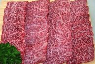 [てらおかの能登牛]極上能登牛霜降りカルビ(A5P)焼肉用(450g)