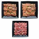 タレ漬け焼き肉とあご肉セット