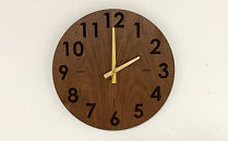 wood clock 330WN