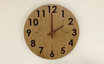 wood clock 330OK