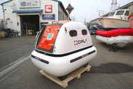 救命艇のエキスパートが造った津波救命艇シェルター