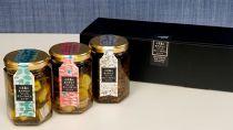 小豆島産オリーブオイルコンフィ3品セット(鰆オリーブオイルコンフィ・鯛オリーブオイルコンフィ・ちりめんじゃこオリーブオイルコンフィ)