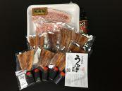 豪華限定企画!国産鰻の蒲焼と熊野牛ステーキの贅沢うな牛セットA