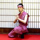 甲賀流忍者衣装ピンク半袖