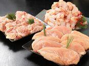 <宮崎県産鶏やわらか若鶏3種で!9kg>