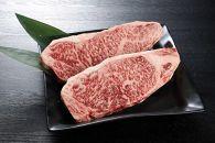 <宮崎県産黒毛和牛特上ロースステーキ600g(300g×2枚)>