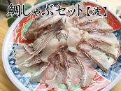 【愛知県産】鯛しゃぶセット(波)