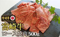 宮崎牛ロース焼肉500g