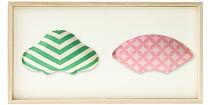【百年物語プロジェクト】ふくら2種飾り(松×扇)