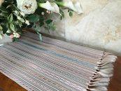 博多織夏帯紗八寸名古屋帯を使ったテーブルセンター
