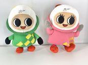 ボートレース福岡のマスコットキャラクター ペラ坊&ペラ美ぬいぐるみセット