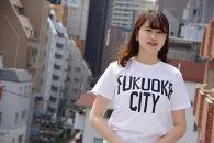 福岡シティTシャツ(FUKUOKACITY)XLサイズ
