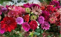 お花の定期便年4回届く「雅酒田のフラワーアレンジメント」<LotusGarden>
