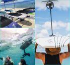 宮古島に来たら 前浜ビーチでefoilsを体験しよう!40分(11,200点クーポン)