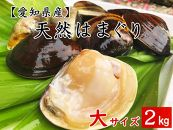 【愛知県産】天然はまぐり(大サイズ) (冷凍) 500g×4袋
