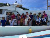 船釣り体験と「釣りベキュー」