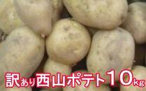 TA011【訳あり】西山ポテト10kg
