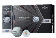 いなッピーオンネームゴルフボール キャロウェイCHROMESOFTX トリプルトラック 2ダース