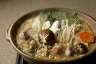 本場茨城県大洗の老舗割烹料理店のあんこうとスープ(4人前)