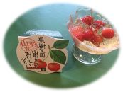 BK25-NTさくらんぼ紅秀峰とさくらんぼゼリーの詰め合わせ