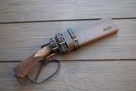 曲がり焚き火鉈・黒両刃 柄角度/標準型