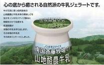 【ドルチェかがみ】南国斉藤牧場ノンホモジナイズ山地酪農牛乳ジェラート