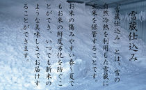 契約栽培雪蔵貯蔵米南魚沼産こしひかり10kg(5kg×2)