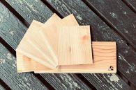 【ポイント交換専用】\簡単に燻製風味/【阿蘇小国杉】BBQ用シダーペーパー+シダープレートセット