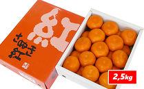 《香川県産》小原紅みかん2.5kg[ハウス栽培]【6月中旬~8月上旬発送予定】