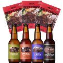 「萌木の村ROCK人気セット」クラフトビール4種、ROCKビーフカレー3パック