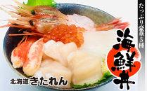 たっぷり豪華5種!海鮮丼セット〈きたれん・新千歳空港店オリジナル商品〉