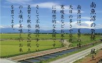 【新米予約 頒布会】南魚沼産こしひかり5kg×全12回 契約栽培雪蔵貯蔵米