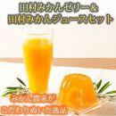 田村みかんフルーツまるごとゼリー250g×6個&みかん果汁100%ジュース200ml×8本