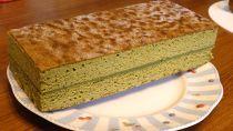 【菓南】沼津抹茶とホワイトチョコのバターカステラ
