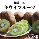 【まごころ手選別】和歌山産 キウイフルーツ 約3.6kg