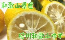 【農家直送】【国産】紀州和歌山の柚子(ご家庭用)2kg