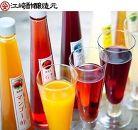 <江﨑酢醸造元>果実酢3本セット(マンゴー、ブルーベリー、ザクロ)
