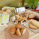 完全無農薬・無科学肥料栽培小麦とブランのパンセット&UNIDOS珈琲5杯分≪卵・乳製品不使用≫【天然パン工房楽楽】
