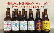 個性あふれる浮島ブルーイングのクラフトビール12本セット